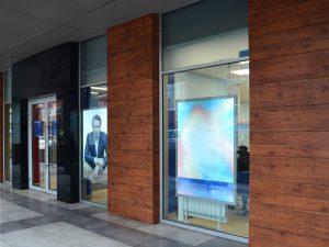 Фасад магазина в ТЦ