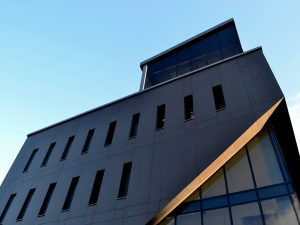 Фасад современной клиники