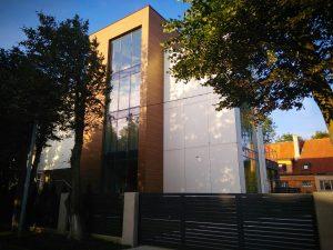 Дизайн фасада здания от Effect Glass