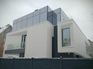 modern design house facade