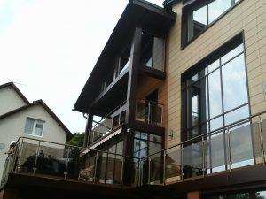 Наружные панели и светопрозрачные конструкции