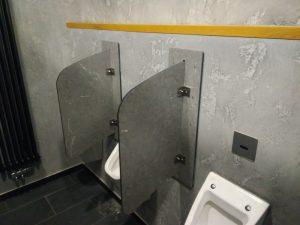 Сантехнические перегородки для туалета
