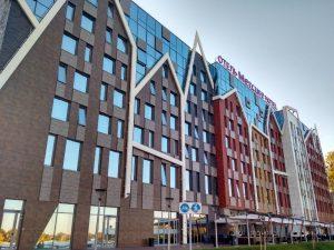 Фасад отеля Mercure Калининград