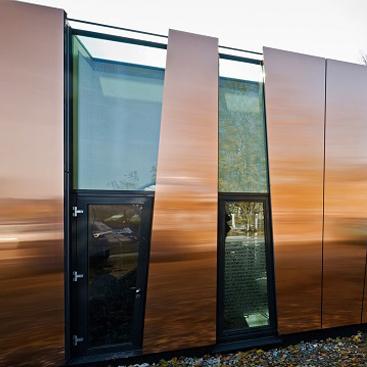 Современный фасад от Effect Glass