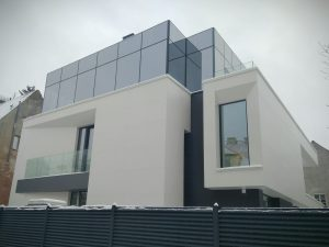 modern design house facade