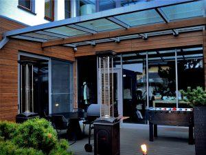 Пример стеклянной крыши